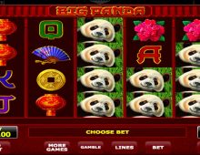 Big Panda информация о слоте